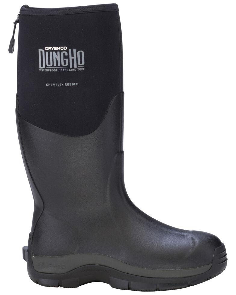Dryshod Men's Dungho Barnyard Tough Boots, Black, hi-res