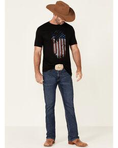 Cody James Men's Fly The Flag Graphic Short Sleeve T-Shirt , Black, hi-res