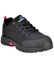 Nautilus Women's Black Spark Work Shoes - Alloy Toe, Black, hi-res