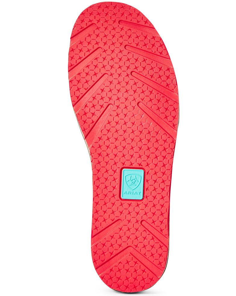 Ariat Women's Cowboy Print Cruiser Shoes - Moc Toe, Brown, hi-res