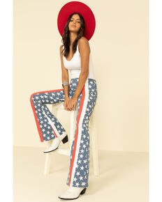 Free People Women's 4th of July Penny Pull on Flares , , hi-res