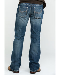 Rock & Roll Denim Men's Pistol Vintage Med Boot Jeans , Blue, hi-res