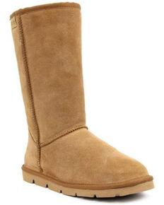 Superlamb Men's Argali Ram Western Boots - Round Toe, Medium Brown, hi-res