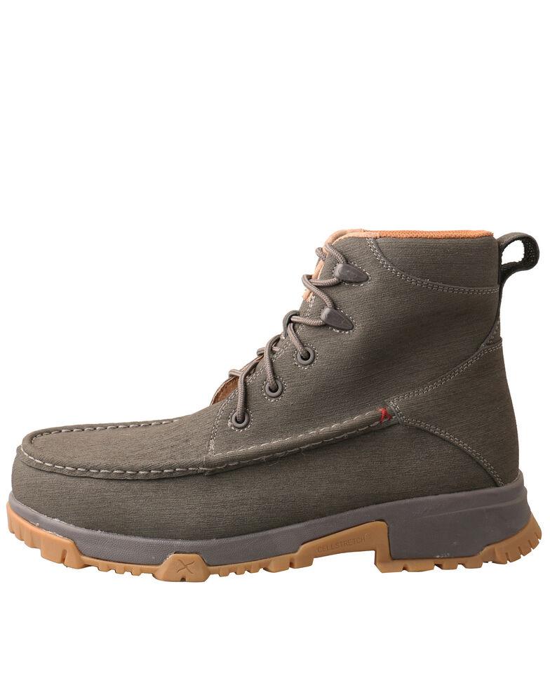 Twisted X Men's Grey Work Boots - Soft Toe, Grey, hi-res