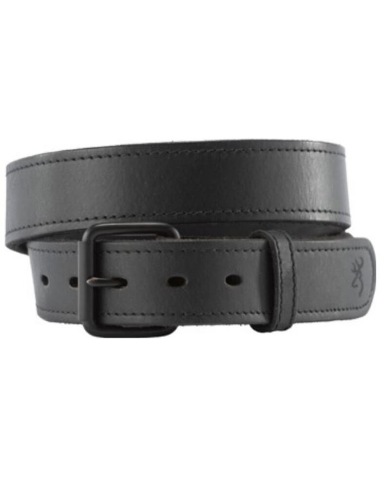 Browning Men's Black Gun Belt, Black, hi-res