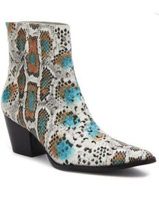 Matisse Women's Carter Fashion Booties - Snip Toe, Grey, hi-res