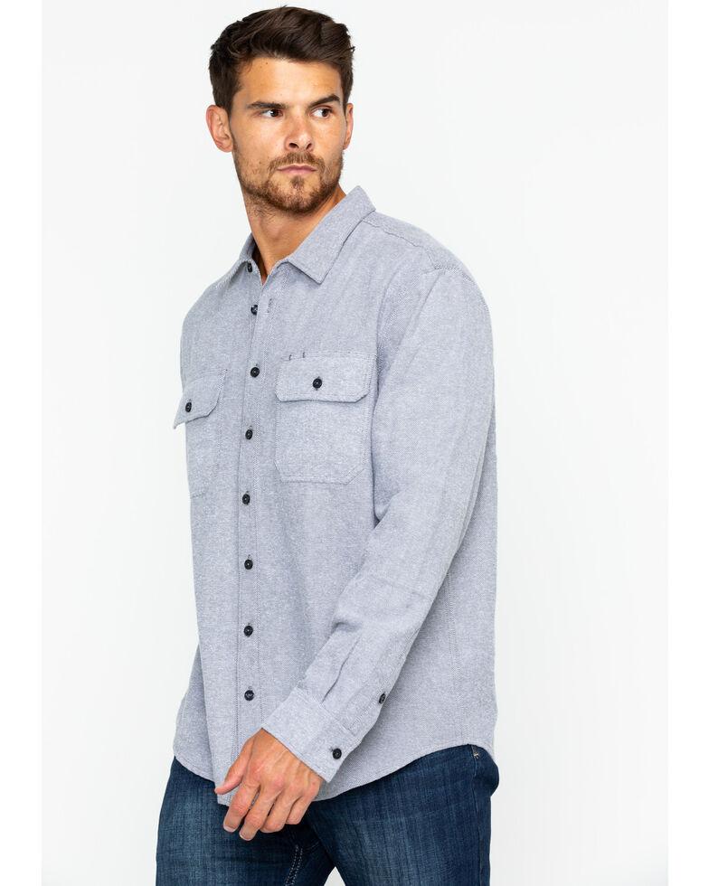 Hawx Men's Calvary Twill Shirt, Grey, hi-res
