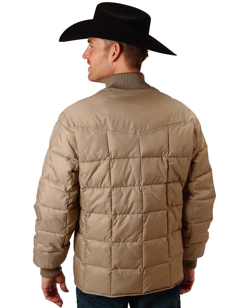 Roper Men's Rangegear Insulated Jacket, Brown, hi-res