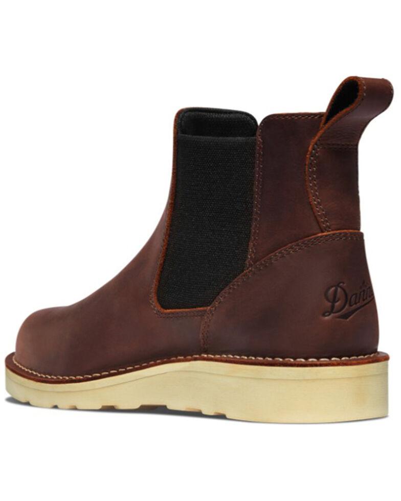 Dan Post Men's Bull Run Chelsea Boots - Soft toe, Brown, hi-res