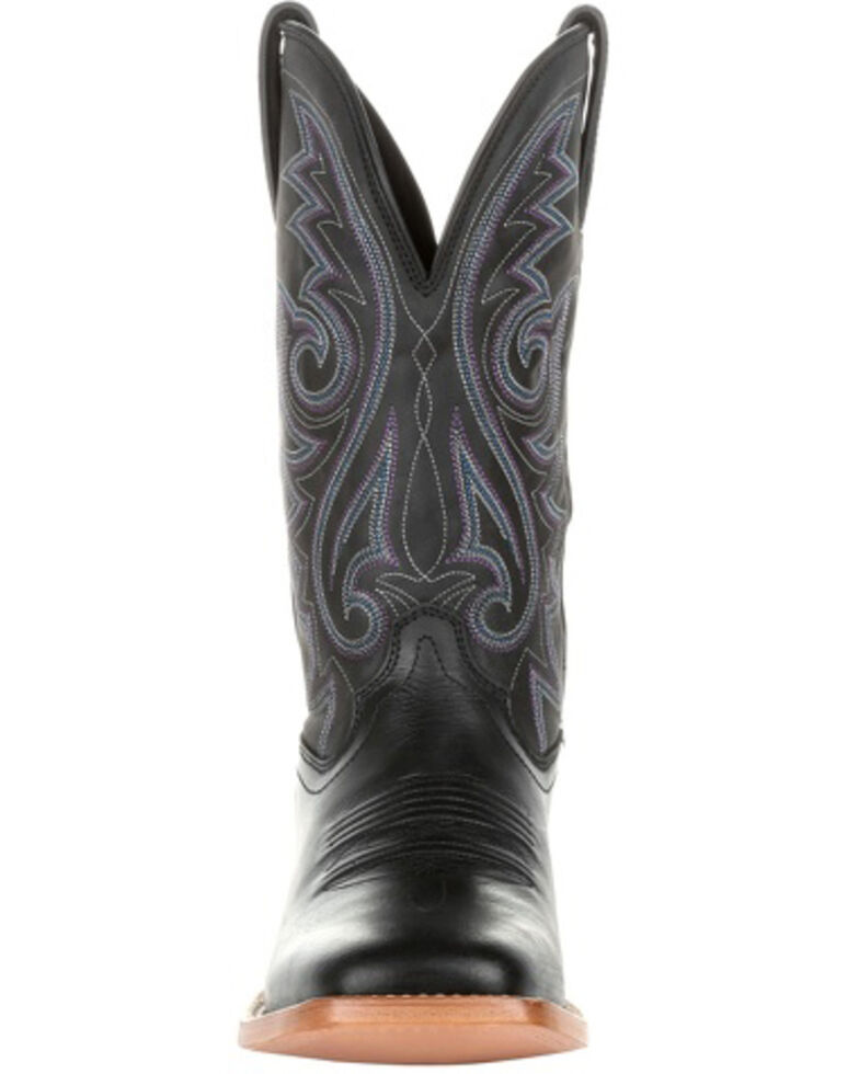 Durango Men's Black Arena Pro Western Boots - Square Toe, Black, hi-res