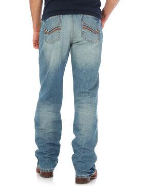 Wrangler 20X Men's Blue No. 33 Relaxed Fit Jeans - Straight Leg , Medium Blue, hi-res