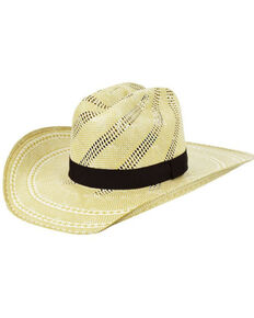 Bailey Men's 15X Natural Ivory Gates Shantung Western Straw Hat , Ivory, hi-res