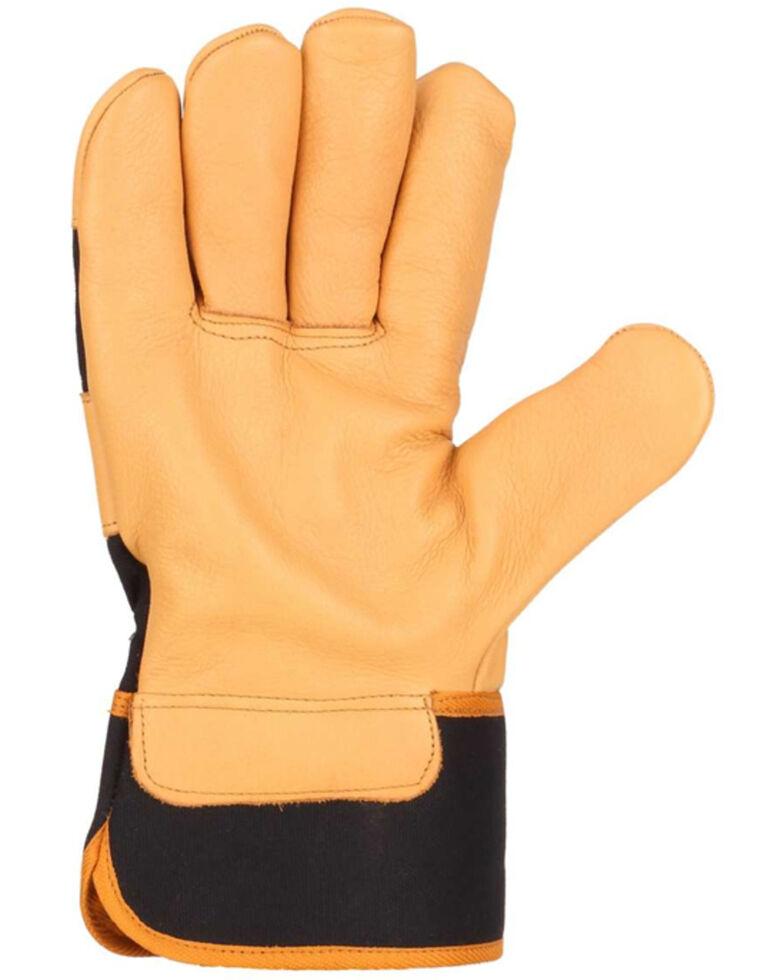 Carhartt Men's Insulated Safety Cuff Work Gloves, Black, hi-res