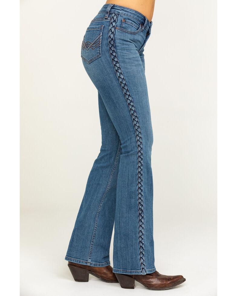 Idyllwind Women's Rebel Bluegrass Bootcut Jeans, Blue, hi-res