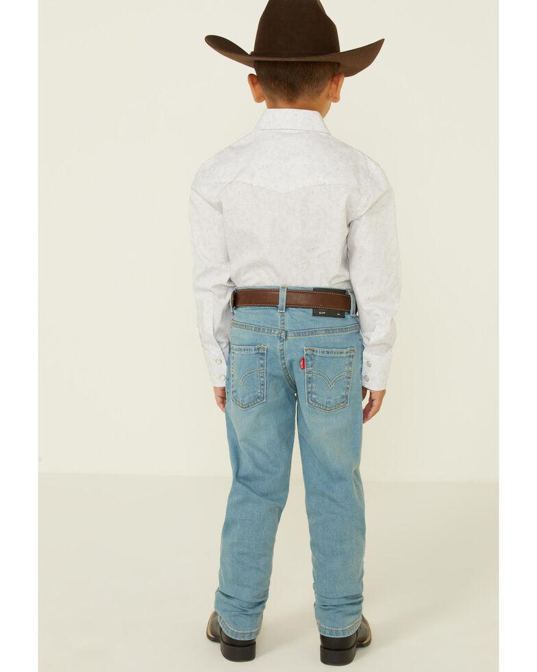 Levi's Boys' 511 Light Wash Dodger Slim Straight Jeans , Light Blue, hi-res