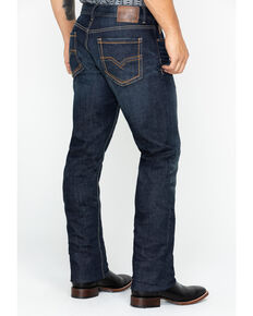 Moonshine Spirit Men's Dark Regular Straight Leg Jeans, Indigo, hi-res