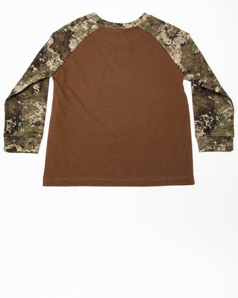 John Deere Toddler Boys' Cuter In Camo Long Sleeve Shirt , Camouflage, hi-res