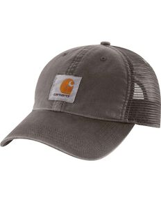 Carhartt Buffalo Sandstone Mesh Back Cap, Grey, hi-res