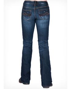 Cowgirl Tuff Women's Lazy Day II Jeans, Blue, hi-res