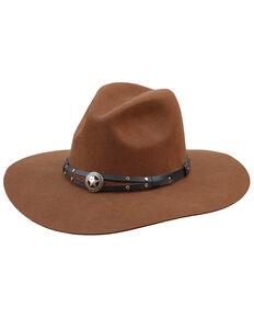4048a3f23a2 Silverado Women s Jane Pecan Crushable Wool Western Hat