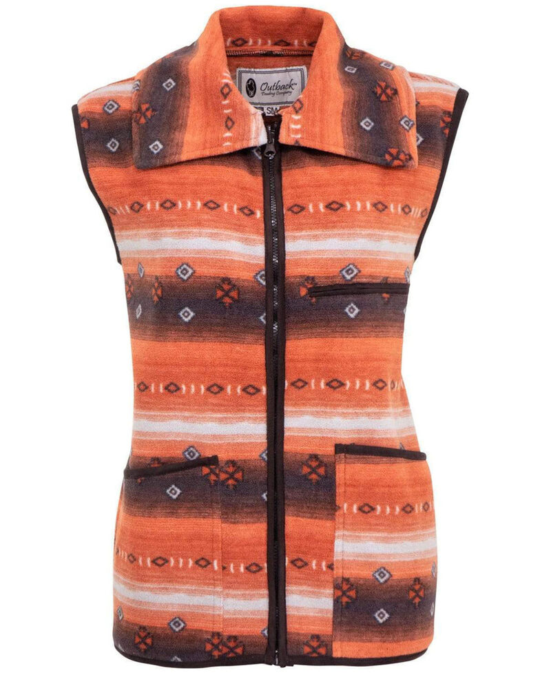 Outback Trading Co. Women's Rust Skyler Vest Liner, Rust Copper, hi-res