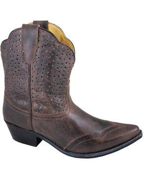 Smoky Mountain Women's Fern Boots - Snip Toe , Brown, hi-res