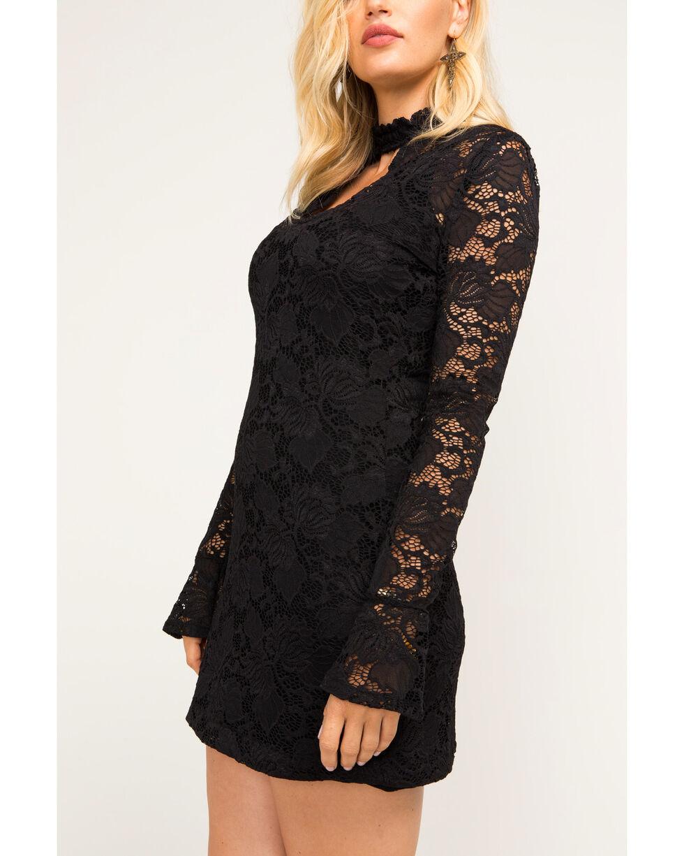 Idyllwind Women's Up All Night Mini Dress, Black, hi-res