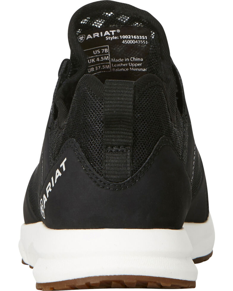 Ariat Women's Fuse Black Mesh Shoes , Black, hi-res
