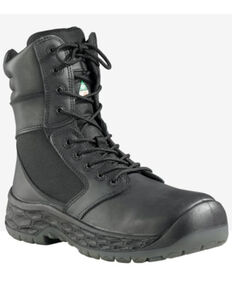 Baffin Men's Ops Waterproof Work Boots - Steel Toe, Black, hi-res