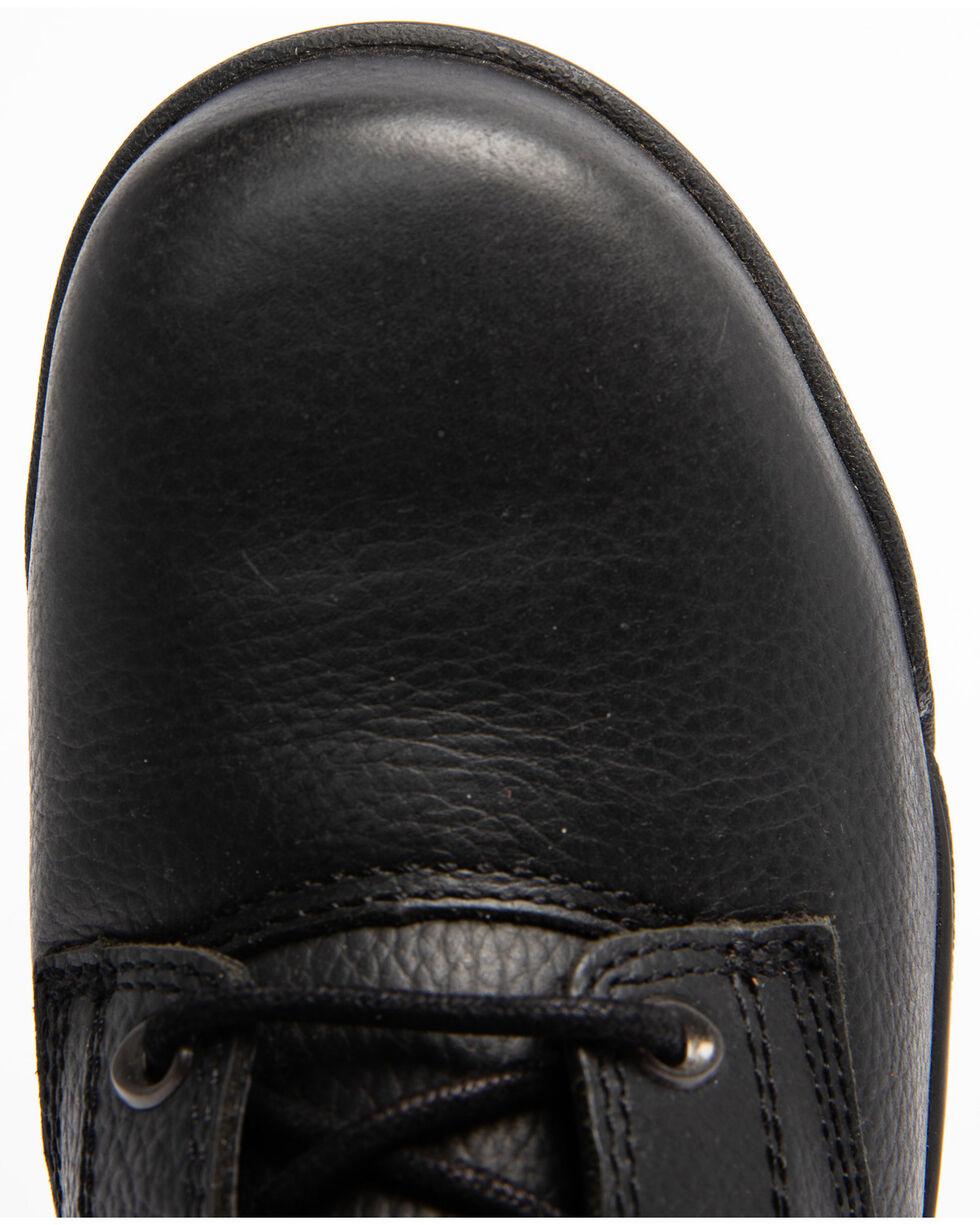 Hawx® Men's Black Enforcer Lace-Up Work Boots - Composite Toe, Black, hi-res