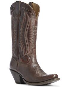 Ariat Women's Circuit Salem Western Boots - Narrow Square Toe, Brown, hi-res