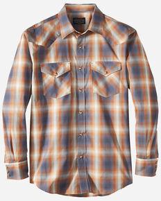 Pendleton Men's Ivory Frontier Long Sleeve Western Shirt , Ivory, hi-res