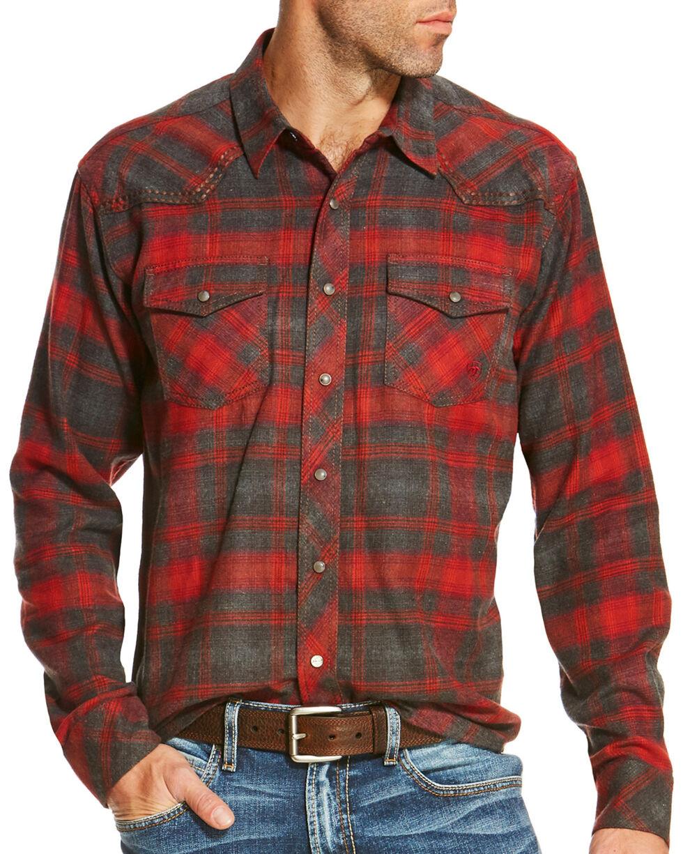 Ariat Men's Tahoe Retro Shirt, Ruby, hi-res
