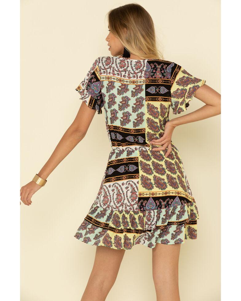 Wrangler Women's Multi Paisley Print Dress, Multi, hi-res