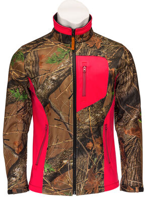 Trail Crest Women's Neon Coral Waterproof Jacket, Coral, hi-res