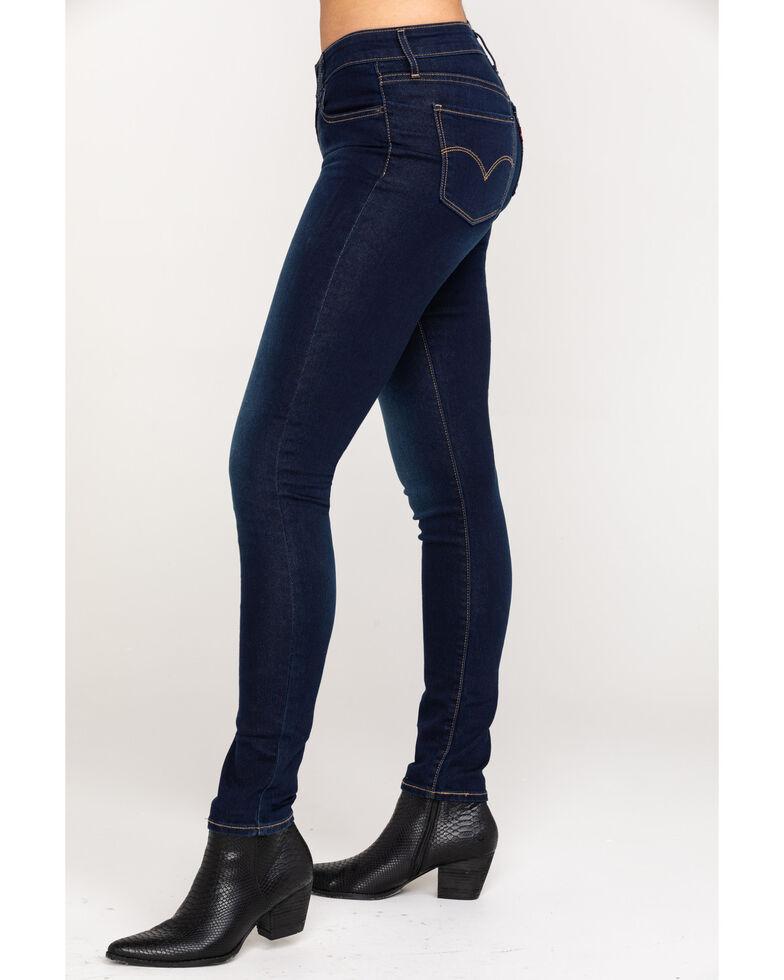 Levi's Women's 711 Skinny Jeans, Indigo, hi-res