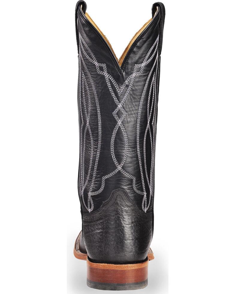 3d811cb5851 Tony Lama Men's Flat Black Cow Foot Cowboy Boots - Square Toe