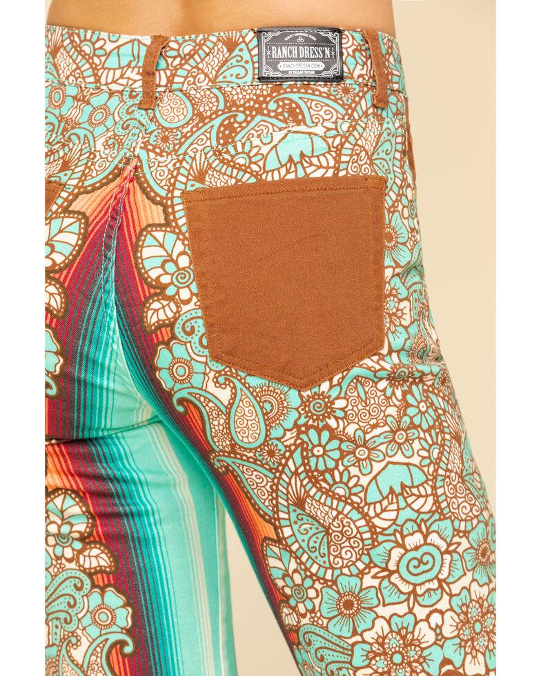 Ranch Dress'N Women's Durango Printed Trousers - Plus, Multi, hi-res