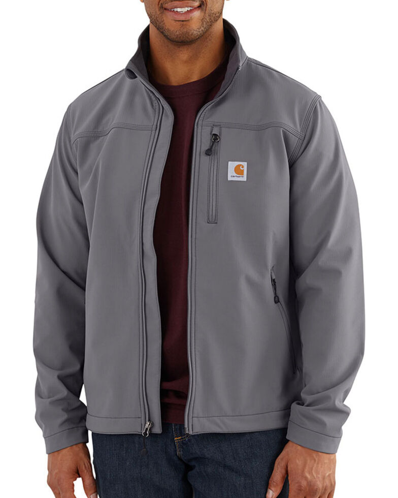Carhartt Men's Charcoal Denwood Work Jacket , Charcoal, hi-res