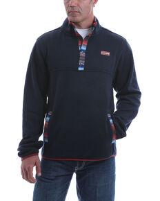 Cinch Men's Navy Heavyweight Knit Pullover Sweatshirt - Big , Navy, hi-res