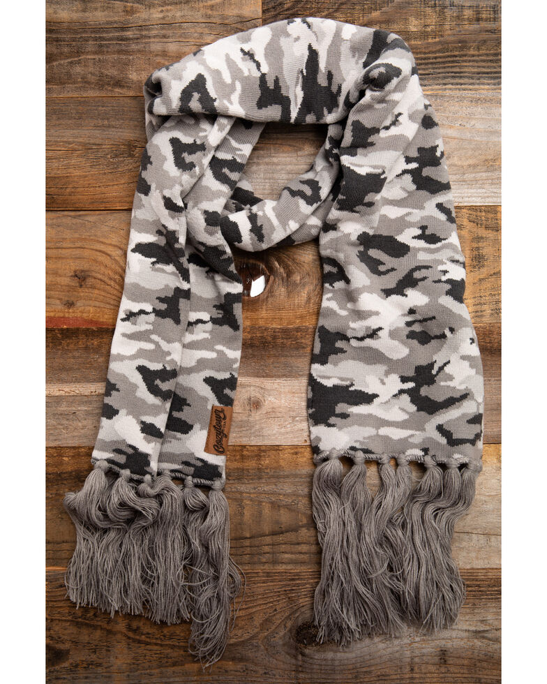 Idyllwind Women's Cozytown Camo Scarf, Camouflage, hi-res