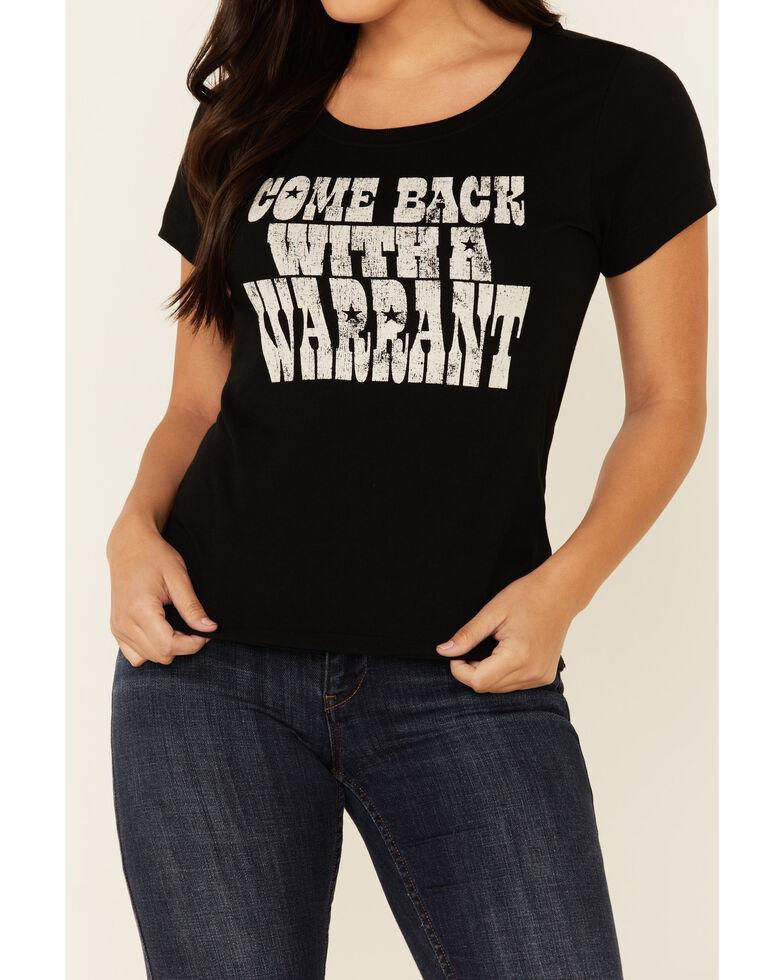 Idyllwind Women's Warrant Short Sleeve Trustie Tee , Black, hi-res