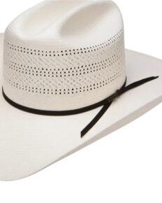 Resistol Men's 20X Natural Chase Shantung Straw Western Hat  , Natural, hi-res
