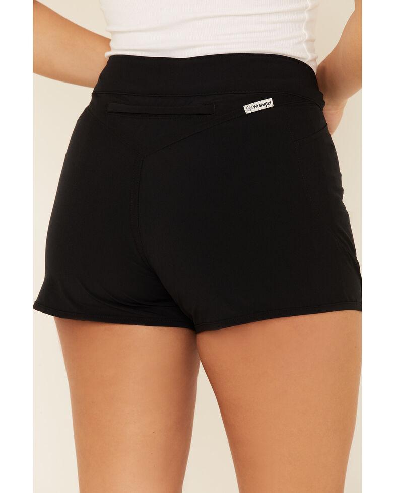 Wrangler Women's Trail Run Shorts, Black, hi-res