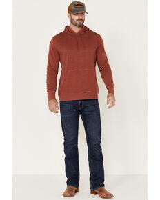 Flag & Anthem Men's Rust Colerain Burnout Hooded Fleece Sweatshirt , Red, hi-res