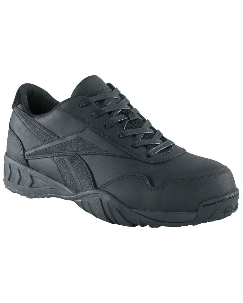 Reebok Women's Bema Eurocasual Work Shoes - Composite Toe, Black, hi-res