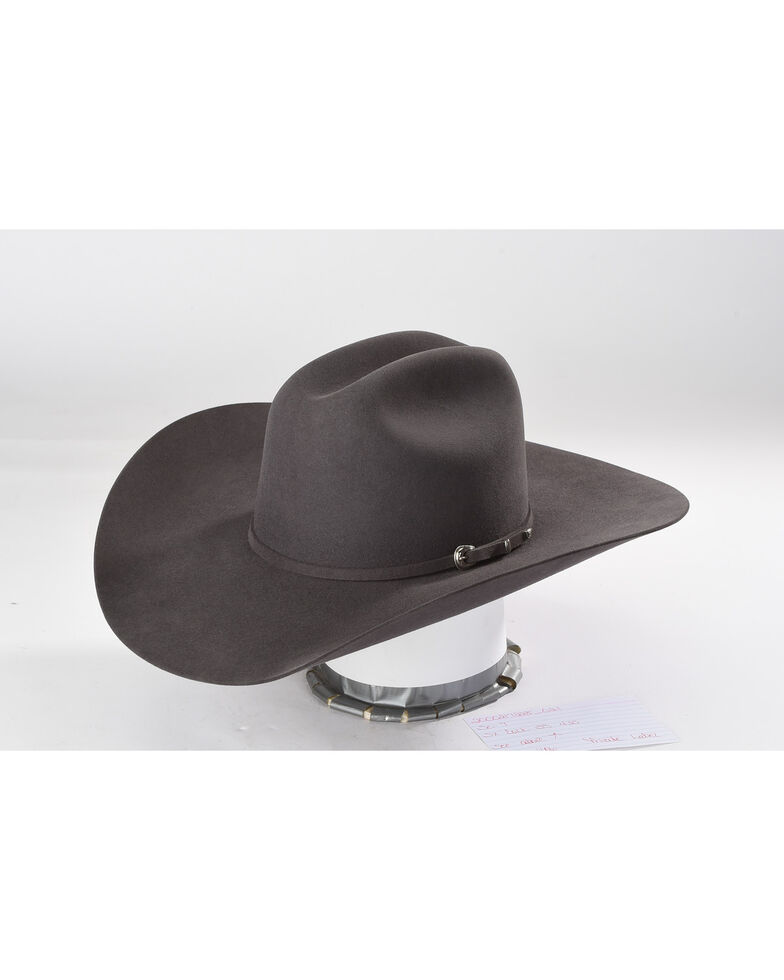 670cb2ebefc8da Zoomed Image Cody James Men's Granite 5X Colt Felt Hat , Dark Grey, hi-res