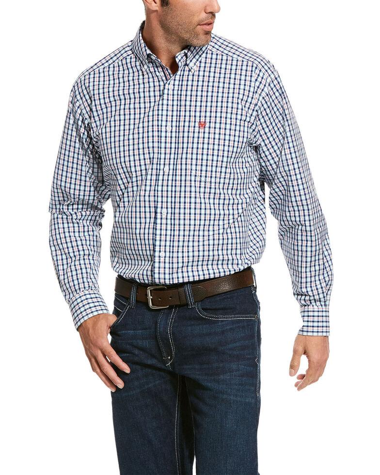 Ariat Men's Rockwood Plaid Long Sleeve Western Shirt - Big, Multi, hi-res