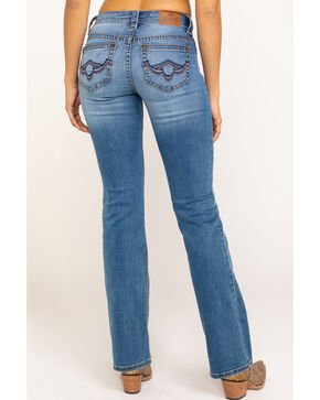 Shyanne Life Women's Crosshatch Riding Jeans, Blue, hi-res