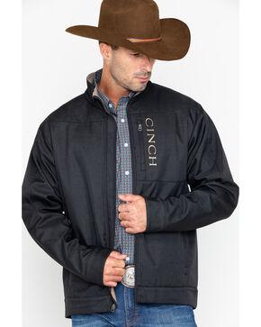 Cinch Men's Black Textured Bonded Concealed Carry Jacket, Black, hi-res